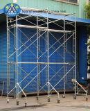 Tubo usado del andamio para el andamio de la mano de Gurantee segundo de la calidad de la construcción