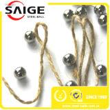 Sfera dell'acciaio al cromo del cuscinetto di rotella di AISI52100 Suj2