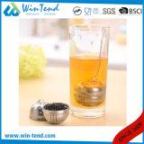 Setaccio all'ingrosso del tè del servizio del ristorante dell'hotel dell'acciaio inossidabile con la testa del silicone