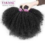 Großhandelshaar-Bündel-Jungfrau-brasilianische Haar-Webart-lockiges Haar-Bündel