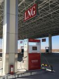 De kleinhandels Automaat van het LNG van het Aardgas