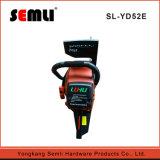 Gasolina 2 tiempos Power Tool motosierra con gatillo de seguridad