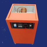 8kw溶ける金銀製の銅の青銅色プラチナ等のためのるつぼが付いているコンパクトな誘導加熱