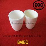 crogiolo di ceramica dell'allumina Al2O3 del ~ 99% di 95%