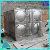 При нажатии кнопки с возможностью горячей замены вид в разрезе резервуар для воды из нержавеющей стали