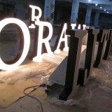LED voie lettres Signe signe Face-Lit fabriqué