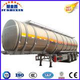 De Jushixin de aluminio de la aleación del combustible de petrolero del carro acoplado semi