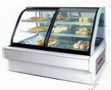 Rg подушка ножной коммерческих торт витрина дисплея охладителя