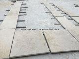 Beige hölzerner Kalkstein-Marmor Portugal-Moca für Fliese und Jobstepp