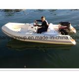 Liya 3.8m Hypalon/PVCの半堅く膨脹可能なボート
