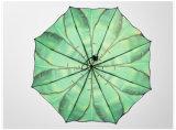 نساء مطر مظلة يطوي أنثى مظال [سونسكرين] إمرأة شمسية بنت أنيقة [أنتي-وف] فن مظلة [برغس] هبات