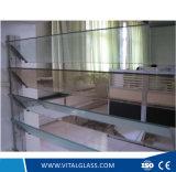 Azul/verde/vidrio claro de la lumbrera para el vidrio de ventana con CE&ISO9001