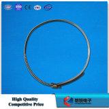Ajustage de précision de câble d'accessoires de la courroie FTTH d'acier inoxydable