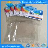 Impresa personalizada bolsa de embalaje de plástico transparente OPP