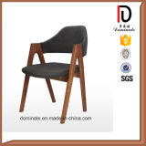 簡単な現代新しいデザイン椅子を食事する最もよい品質の木足