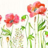 La decoración del hogar Nueva Pintura al Óleo hechas a mano con motivos florales