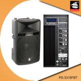 15 Zoll PROaktiver Plastiklautsprecher PS-3315fbt USB-200W Ableiter-FM Bluetooth EQ
