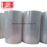Película de estiramento plástica Rolls enorme do baixo preço de película de estiramento do envoltório da fonte da fábrica no fabricante de Shen Zhen
