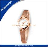 De geruilde Manier van Riemen Dame Watch met Charmante Horloge van het Roestvrij staal van de Riem van het Netwerk Milanese