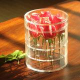 現代アクリルの円形の花ボックスローズの包装ボックス