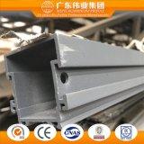 Constructeur de la Chine d'aluminium de guichet de tissu pour rideaux de modèle de mode/d'aluminium/de profil d'Aluminio
