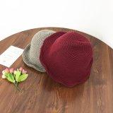 Fashion différentes couleurs de l'hiver Hat Chapeau de godet