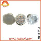 Jdr-E27 LEIDENE de van uitstekende kwaliteit van de Vlek Verlichting die van de Bol de Dekking van de Lens gebruikt