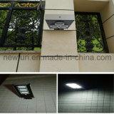 9W Todo-en-uno calle la luz solar Panel solar de silicio monocristalino