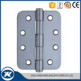 Dobradiça de extremidade comum inoxidável da porta da planície do aço 201 ou 304