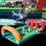 Campo de jogos inflável do jogo da raça, jogo inflável dos miúdos (BJ-SP08)