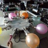 自動2つのカラー気球スクリーンプリンター
