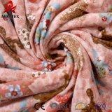 Buena calidad manta hecha punto visión suavemente cómodo del bebé de la tela y seguro