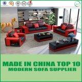 Sofá moderno do lazer da base de couro italiana luxuosa do sofá