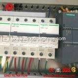 Petit filtre-presse manuel semi-automatique hydraulique de membrane