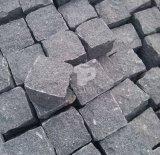 Ciottolo del granito/cubo naturale/pietra per lastricati cubica/pietra del lastricatore per il progetto di costruzione