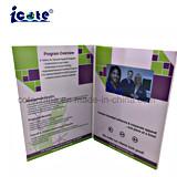 Europa-regionales Merkmal und künstliche Art 4.3 Zoll-Video-Broschüre