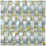 Mosaico di cristallo della piscina molte mattonelle di pavimentazione di colori