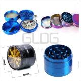 Acessórios de vidro de alta qualidade Gldg 4 camadas de metal esmerilhadeiras ervas com preço de atacado