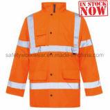 Les hommes's Workwear Veste Vêtements de sécurité réfléchissant pour l'hiver