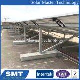 Sistema di alluminio del montaggio di racking solare registrabile del comitato solare