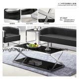 Современная домашняя мебель из закаленного стекла кофе письменный стол Yf-T17088