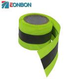 Eonbon in hohem Grade silberne wasserdichte Sicherheits-Retro reflektierendes Gewebe-Band für Kleidung