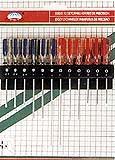 cacciavite 12PCS/Set con la maniglia di plastica di doppio colore (maniglia di plastica gommata)