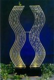 꼬인 모양의 램프