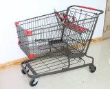 미국식 슈퍼마켓 식료품류 쇼핑 트롤리 손수레