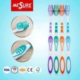 Heiße Verkaufs-Gummi-Massage-Zunge-Massageyangzhou-Fabrik-Zahnbürste