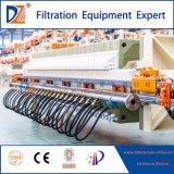 Máquina hidráulica da imprensa de filtro da câmara da membrana da pasta da DZ