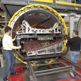 3000X12000mm ASME anerkannter voller Automatisierungs-Zusammensetzung-Autoklav auf dem Luftfahrt-Gebiet