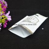 Grau alimentício o saco de plástico com fecho zip