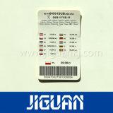 Preiswertes kundenspezifisches fabrikmäßig hergestelltes kundenspezifisches Drucken-Großhandelskleid gesponnener Kennsatz